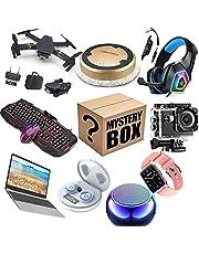 Mystery Box, Elektroniczny pakiet niespodzianek Losowy styl Challenge Box Elektroniczny pozostały pakiet do akcesoriów sportowych Elektroniczny,Black