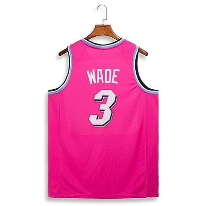 size 40 c9898 c47e8 WEF NBA Heat Team Wade 3 NBA Basketball Clothes Basketball ...