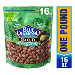 Blue Diamond Almonds, Bold Wasabi & Soy ...