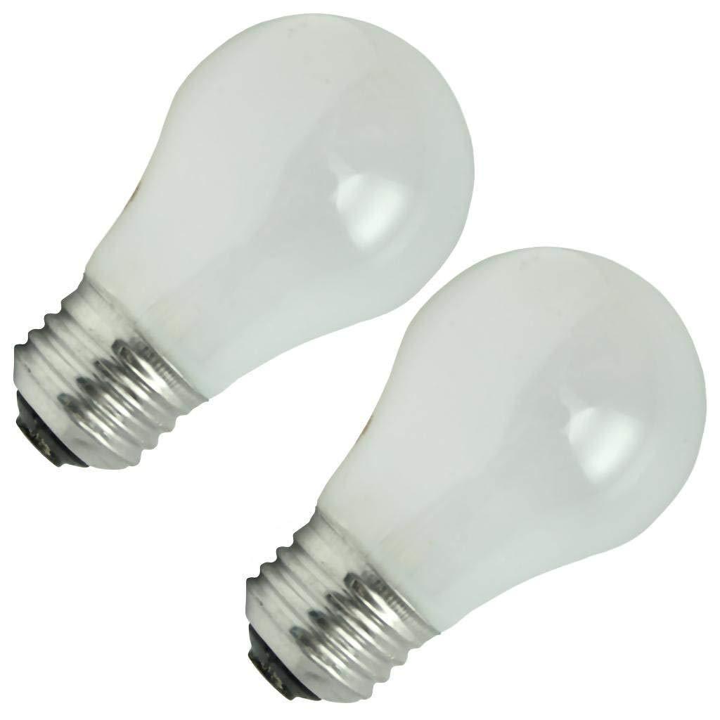 pretty nice 85826 6e7fc GE 60 Watt 2-Pack Ceiling Fan Light Bulbs
