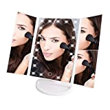 Perfeclear Makeup Mirror - Professional Makeup Magnifying Vanity Mirror with Lights - Natural Light LEDs