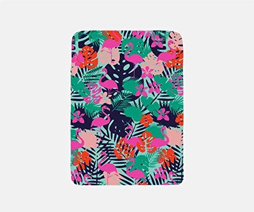 Tropical Blanket Fleece, Travel Blanket Airplane, Flamingo Blanket Throw, Summer Blanket, Beach Blanket