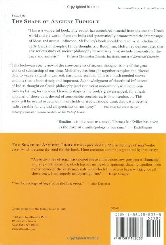 SHAPE OF ANCIENT THOUGHT: Amazon.es: McEvilley, Thomas: Libros en ...