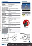 SEALITE Solar LED Marine Lantern 2-3 Nautical Mile