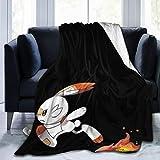 ZGHOME Scor-Bunny Micro Fleece Blankets Down
