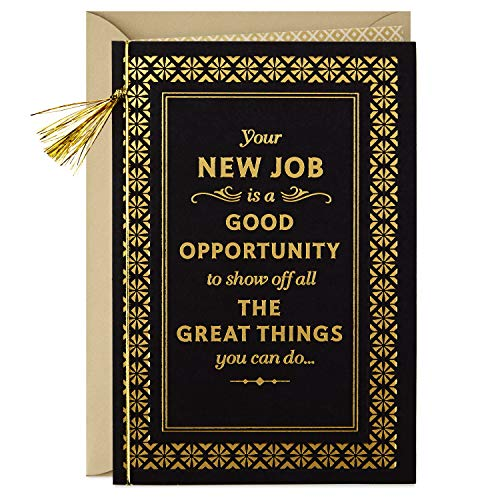 - Hallmark Congratulations New Job Card (Great Things)