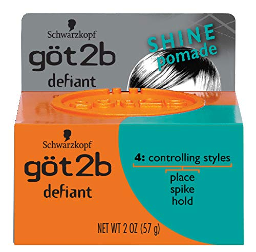 Got2b Defiant Define and Shine Pomade, 2-Ounce (Pack of 2)