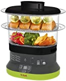 T-fal VC1338 Balanced Living Compact 2-Tier Electric Food Steamer, 4-Quart, Black Review