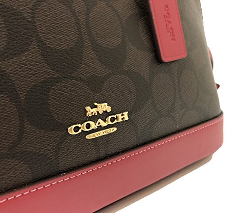 Iim Hot Shoulder Mini Women��s Sierra Purse Brown Shoulder Inclined Pink Satchel Coach Handbag qZwP6znt1