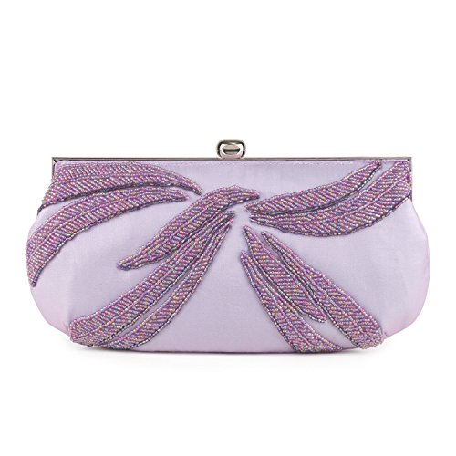 Farfalla Womens 90579li Clutch Purple (Lilac)