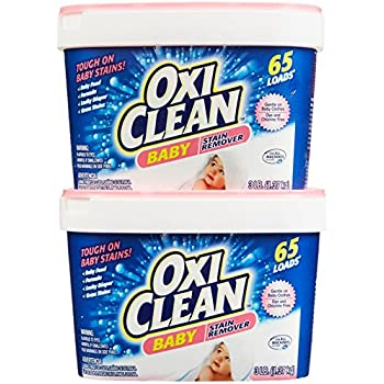 Amazon.com: Pack de 4 – Quitamanchas oxiclean bebé, 48 onzas ...