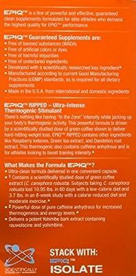 EPIQ - Ripped Ultra-Intense Thermogenic Stimulant - 60 Capsules