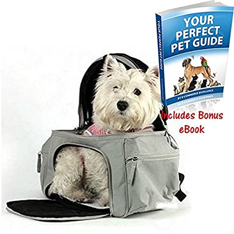 f09181948a8 Extremely Comfortable Backpack Pet Carrier - With A Pop-Up Mesh Roof ...