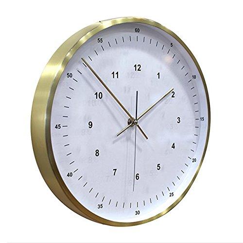 SPICE 壁掛け時計 VALUABLE ゴールド 30cm EDGE TELR1140GD B06VXXCN83