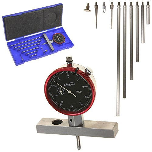 Dial Depth Gauge - iGaging 400-D68 Depth Gauge Dial Indicator, 0-22