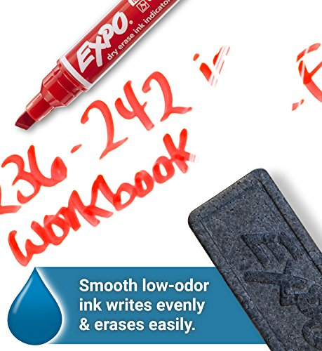 EXPO Dry Erase Markers with Ink Indicator, Chisel Tip, Assorted Colors, Box of 24 by Expo (Image #5)