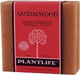 Sandalwood 100% Pure & Natural Aromatherapy Herbal Soap- 4 oz (113g)