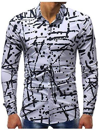 IYFBXl Camisa básica para Hombre - Lunares, Blanco, XXL: Amazon.es: Deportes y aire libre