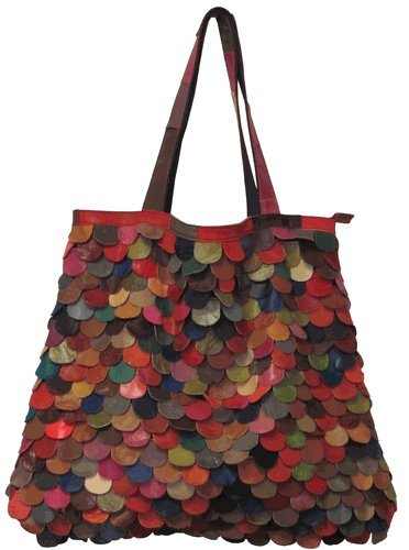 Multi-Colored Kaleidoscope Tote (#1732-9)