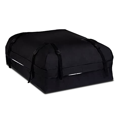 e74b4f21cf13 BOLTLINK Rooftop Cargo Carrier Bag, Waterproof Roof Bag with Heavy-Duty  Wide Straps and Buckles,Easy to Install for Most Car,Vans and SUV