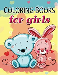 cute coloring book for girls the really best relaxing colouring book for girls 2017