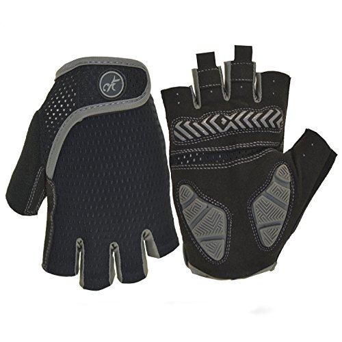 MOREOK Shock-Absorbing Breathable Anti Slip Cycling Gloves H