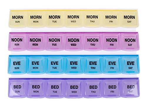 Apex 7-day Mediplanner Pill Organizer