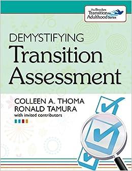 Demystifying Transition Assessment