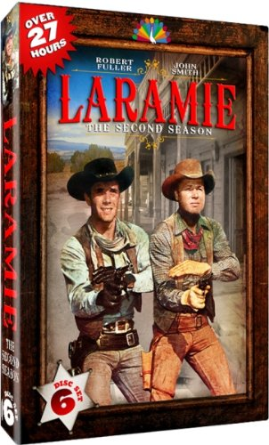DVD : Laramie: The Second Season (Boxed Set, 6 Disc)