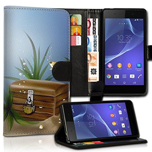 Wallet Book Style Flip Handy Tasche Case Schutz Hülle Schale Motiv Etui für Apple iPhone 6 Plus / 6S Plus - Design Flip MV172