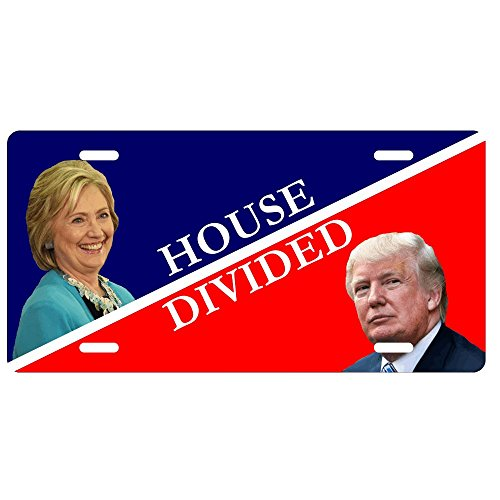Hillary and Trump House Divided License ()