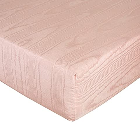 Glenna Jean Remember My Love Fitted Sheet, Pink moire - Glenna Jean Baby Crib