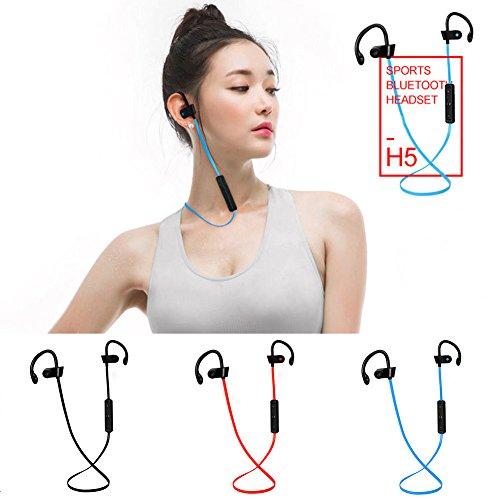 UxradG H5 - Auriculares inalámbricos con Bluetooth para Colgar en los Oídos, Deportivos, Resistentes al Sudor, Cancelación de Ruido, Auriculares con ...