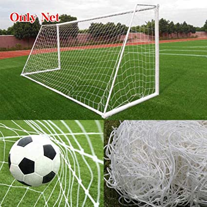 4ba20736ee3 Image Unavailable. Image not available for. Color  1 Pc of PE Football  Soccer Goal Post Net Sports Training Practice Outdoor (6 x