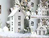 AuldHome Farmhouse Decor Tin Houses