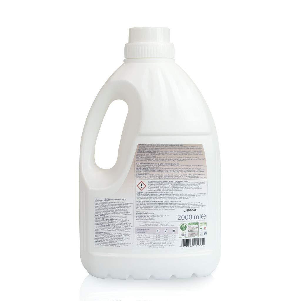 Almacabio Jabón Liquido Lavadora Para 33 Lavados - 2000 gr: Amazon ...