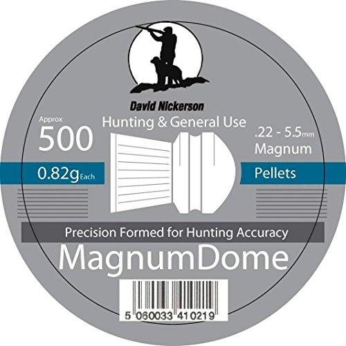 David Nickerson Magnum Dome 0.22 Pellets by David Nickerson