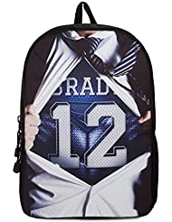 Nflpa Tom Brady #12 Backpack, 17 H X 12 L X 6 G