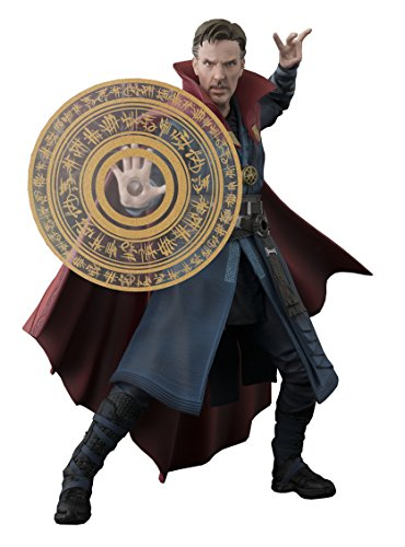 Tamashii Nations Bandai S.H. Figuarts Doctor Strange & Burning Flame Set Doctor Strange Action Figure