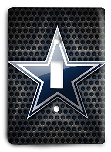 NFL Come Hard Cowboys Light Switch Cover