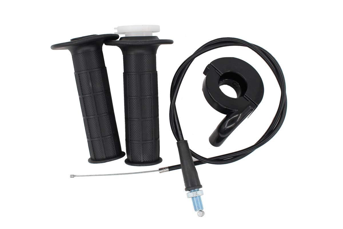 Throttle /& 36 Cable Handlebar Grip Casing Housing for Honda Dirt Pit Bike