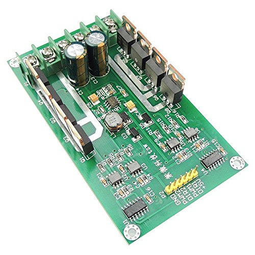 Gaoominy H-ブリッジDCデュアルモータドライバPWMモジュール DC 3~36V 15A ピーク30A IRF3205ハイパワーコントロールボード Arduino Robotスマートカーの為
