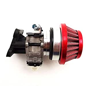 Race-Guy Racing Carburetor Kit Carb Air Filter Stack For 2 Stroke 47cc 49cc Mini ATV Dirt Pocket Bike