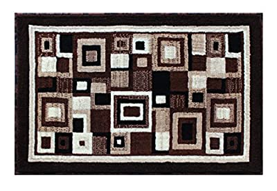 Modern Contemporary Area Rug Design Americana 125 Brown