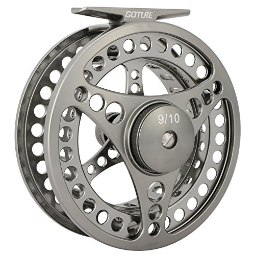 Goture Fly Fishing Reel Waterproof 2+1BB 3/4 5/6 7/8 9/10 Aluminum Alloy Body (CNC Reel, 3/4 2.96in Dia)
