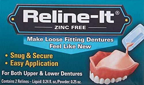 Image of D.O.C. Reline-It Advanced Denture Reliner Kit