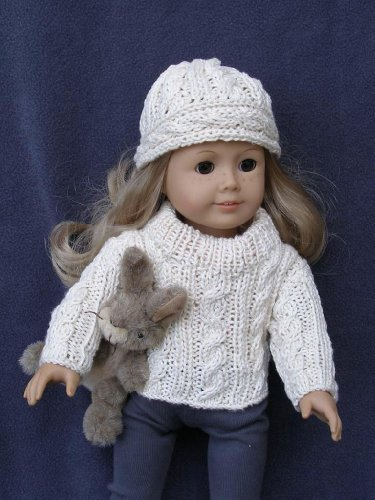 Cables Cables More Cables Knitting Pattern For 18 Inch Dolls