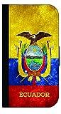 Ecuador Grunge Flag - Passport Protector Case Cover / Card Holder for Travel