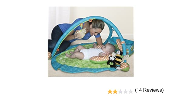 Amazon.com : Boppy Play Gym, Gentle Forest (Discontinued By Manufacturer) :  Baby