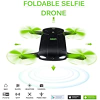 Newest D5 Selfie Drone With HD Camera Foldable Pocket Rc Drones Phone Control Fpv Quadcopter Mini Helicopter Toys UAV